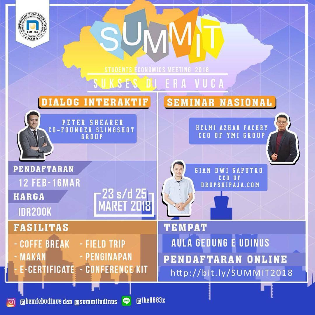 EVENT SEMARANG - SUMMIT 2018