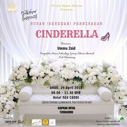 Event Semarang - Talkshow Inspiratif, Bukan Sekedar Pernikahan Cinderella