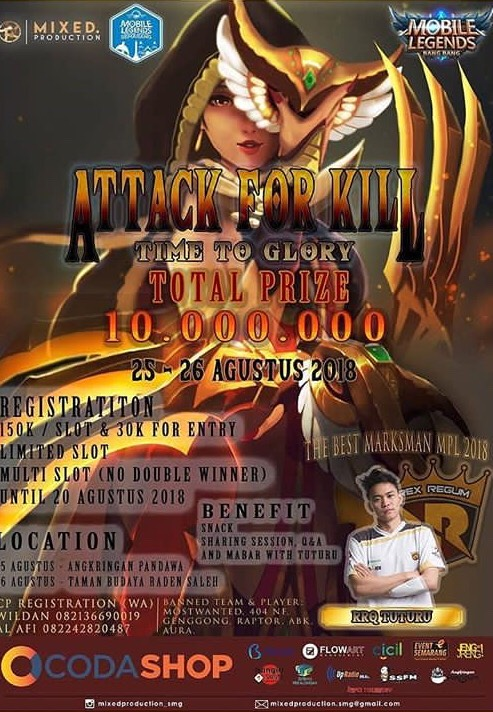 Event Semarang - Tournament Mobile Legend Semarang