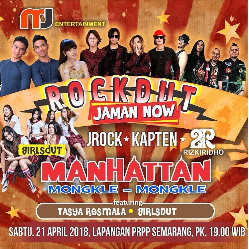 EVENT SEMARANG- ROCK DUT JAMAN NOW.