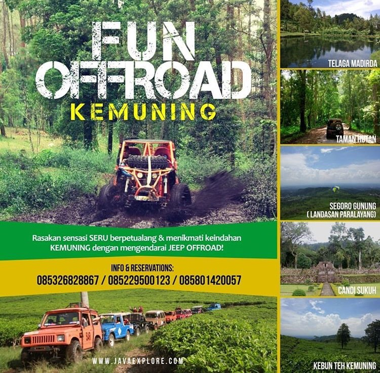 EVENT SOLO -  FUN JEEP OFFROAD KEMUNING