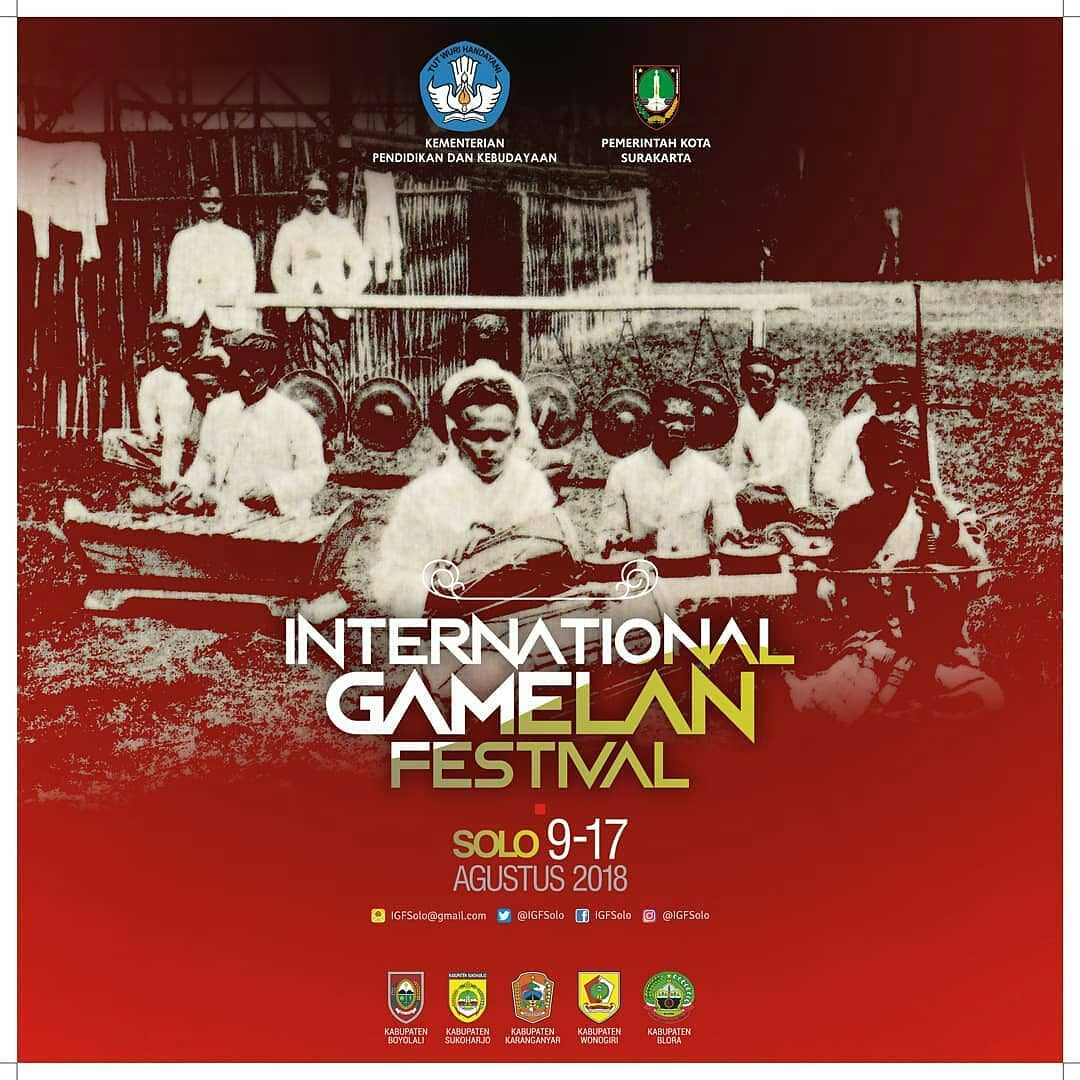 Event Solo - International Gamelan Festival