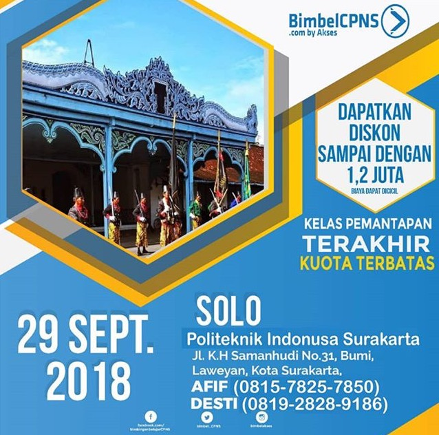 Event Solo - Akses Bimbelcpns