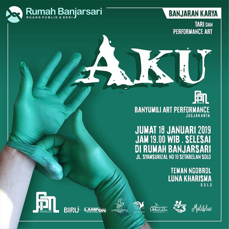 Event Solo - Aku (tari Dan Performance Art)