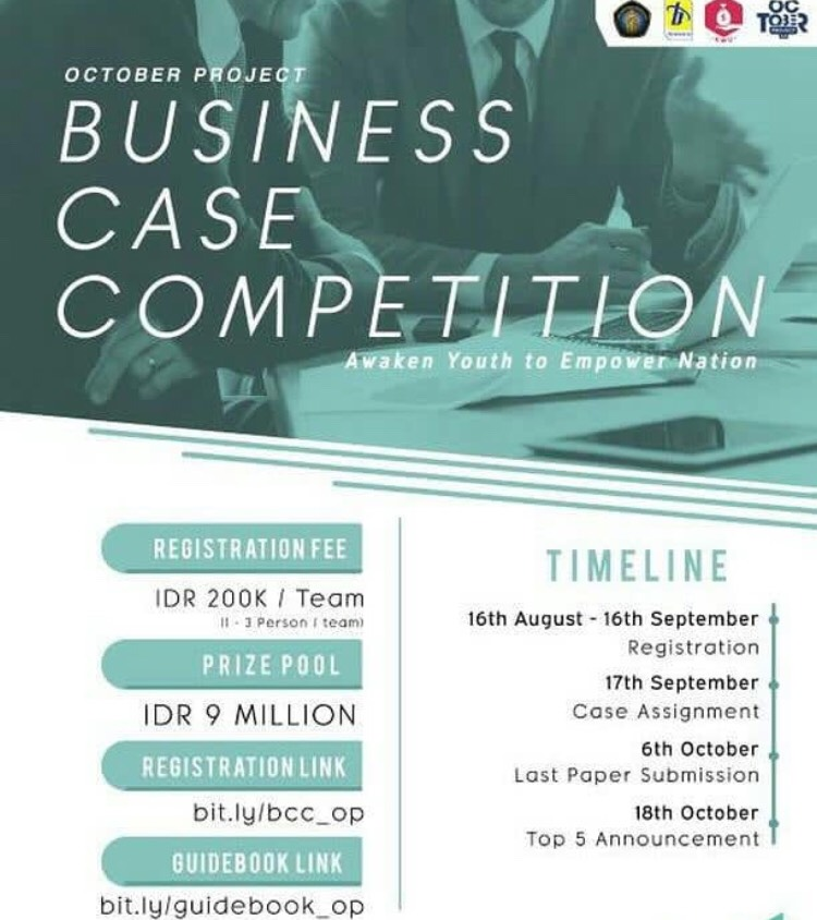 EVENT SOLO - BUSINESS CASE COMPETITION