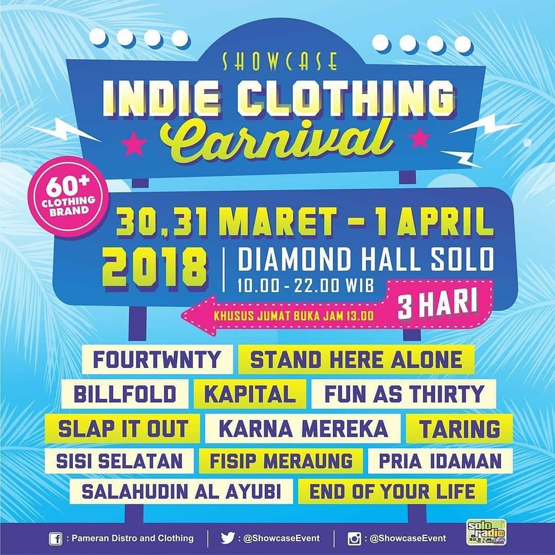 Event Solo - Indie Clothing Carnival