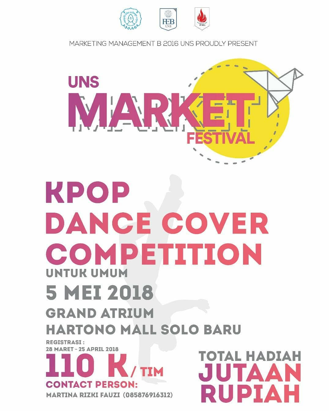 Event Solo - K-pop Dance Competition