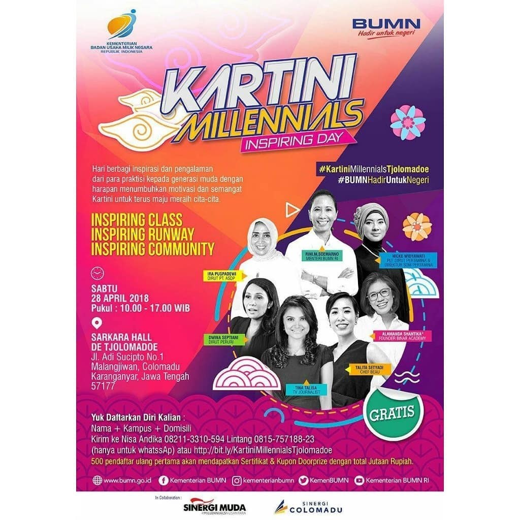 Event Solo - Kartini Millennials Inspiring Day