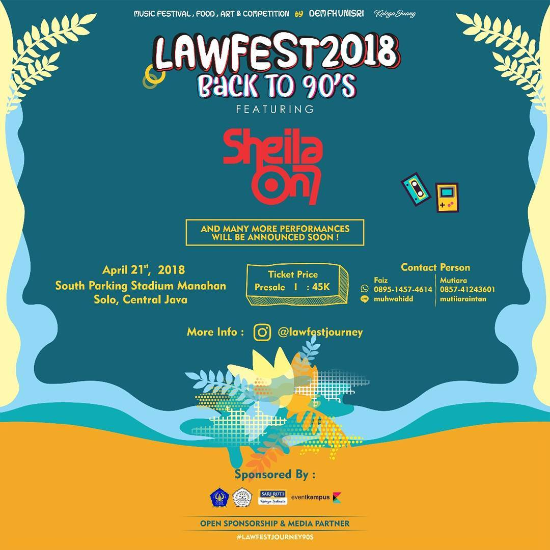 Event Solo - Lawfest Journey Back To The 90s