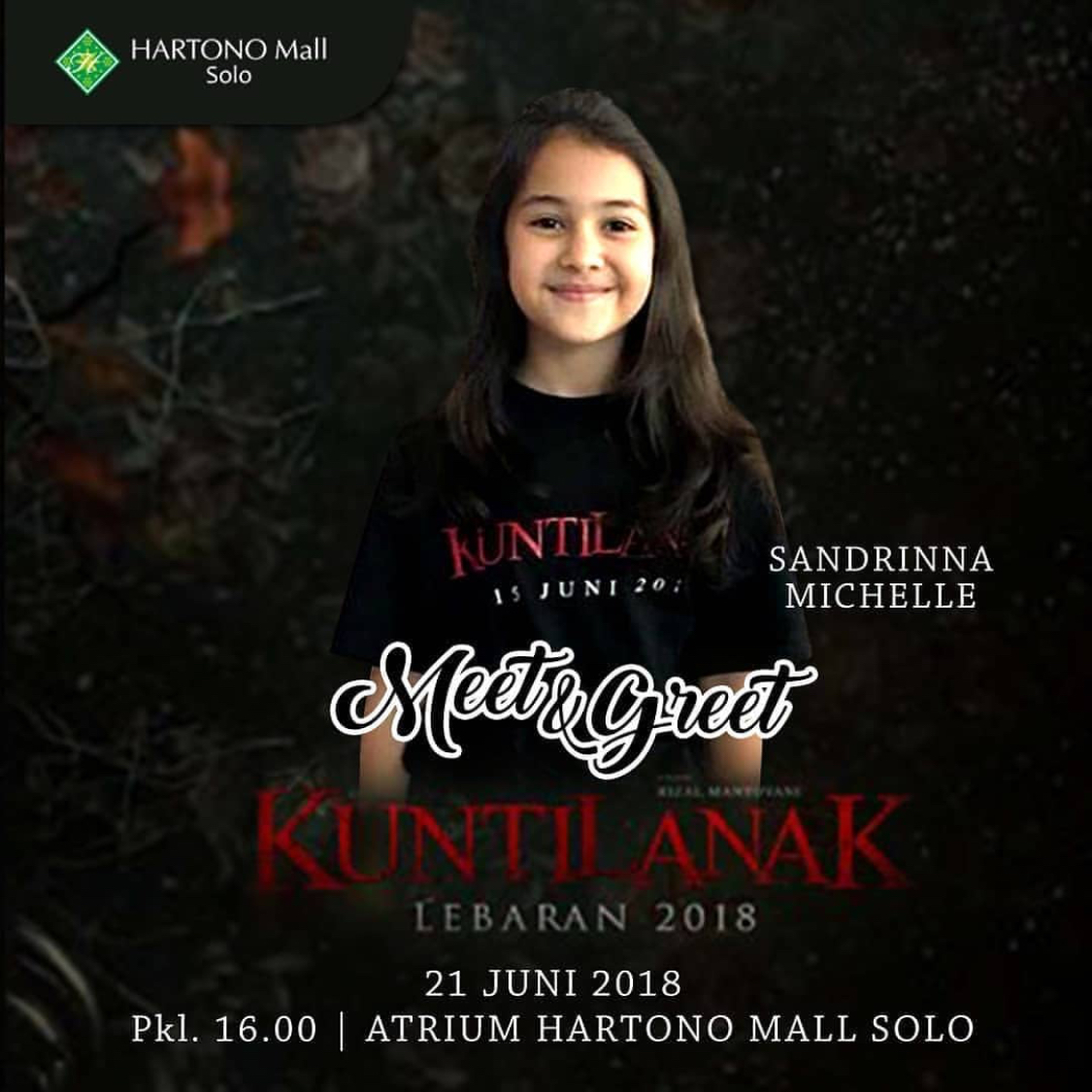 EVENT SOLO - MEET AND GREET PEMAIN KUNTILANAKFILM