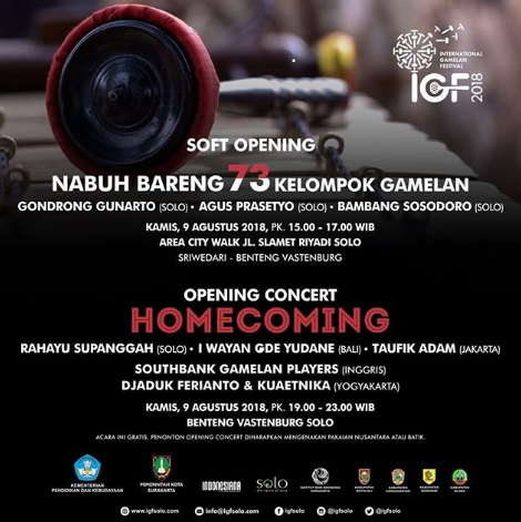 EVENT SOLO - OPENING CONCERT  HOMECOMING