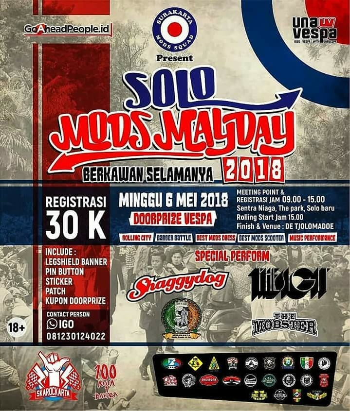 EVENT SOLO - SOLO MODS MAYDAY 2018