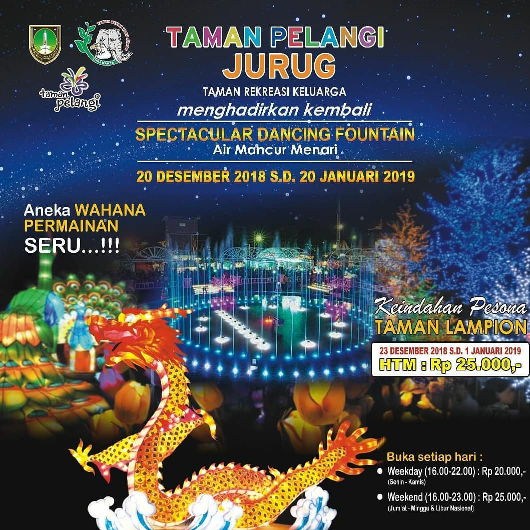 EVENT SOLO - SPECTACULAR DANCING FOUNTAIN TAMAN PELANGI JURUG
