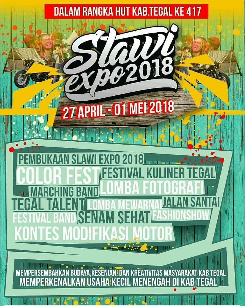 Event Tegal -  Slawi Expo 2018