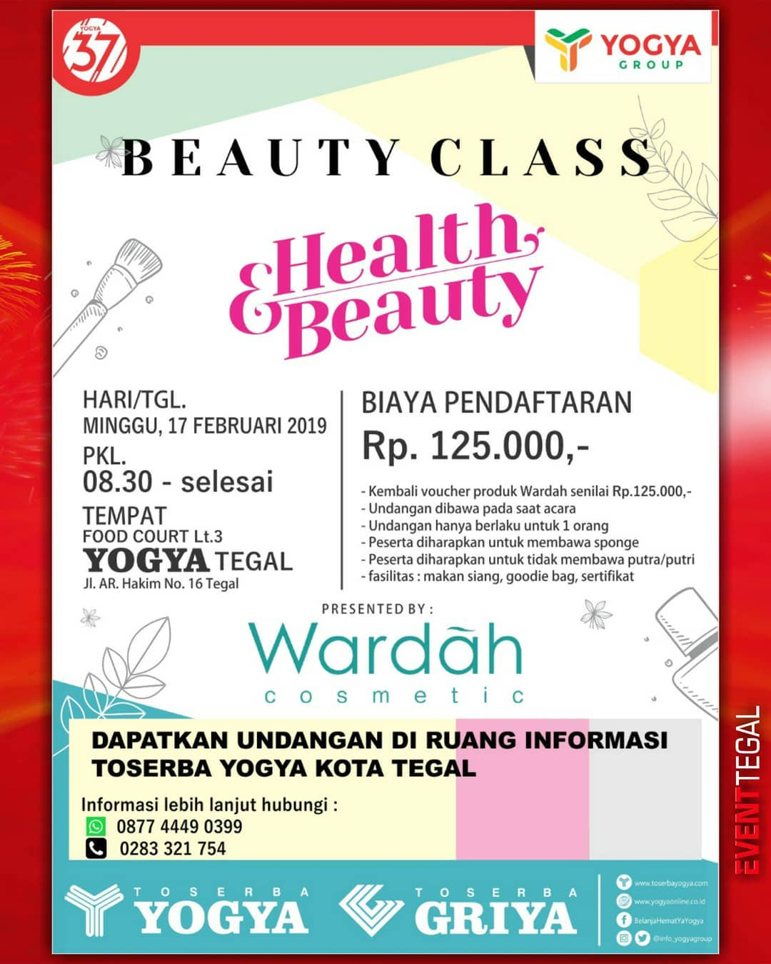 Event Tegal - Beauty Class, Health And Beauty