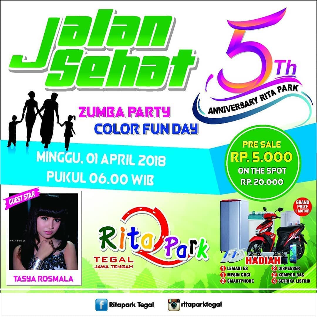 Event Tegal - Jalan Sehat Dan Zumba Party