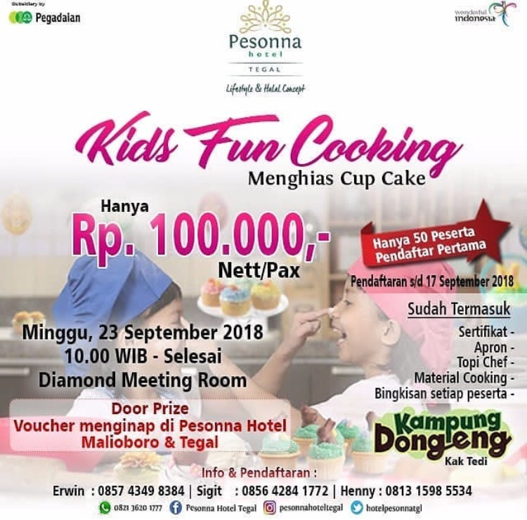 Event Tegal - Kids Fun Cooking