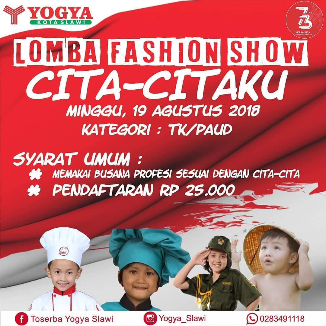 Event Tegal - Lomba Fashion Show