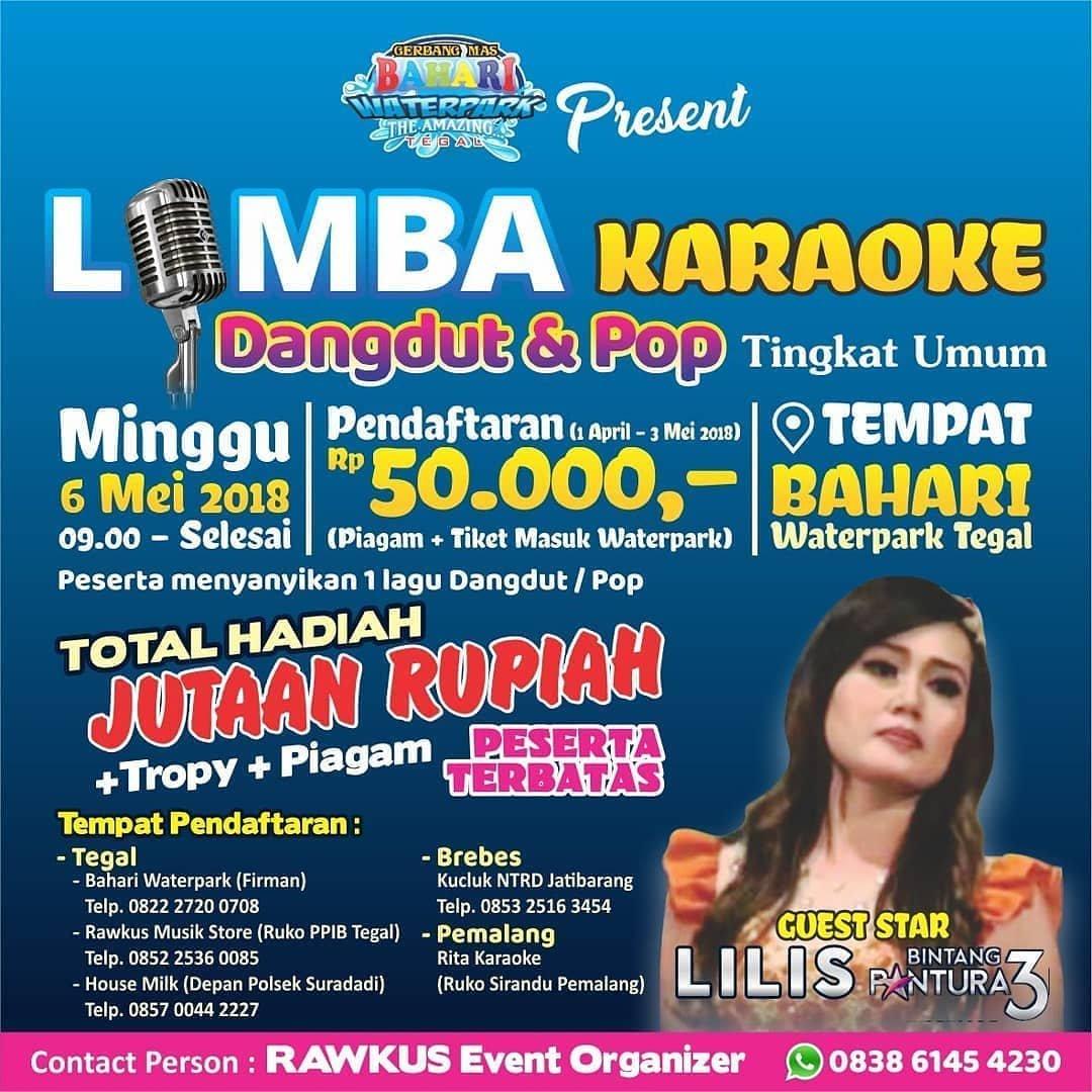 Event Tegal - Lomba Karaoke Dangdut Dan Pop