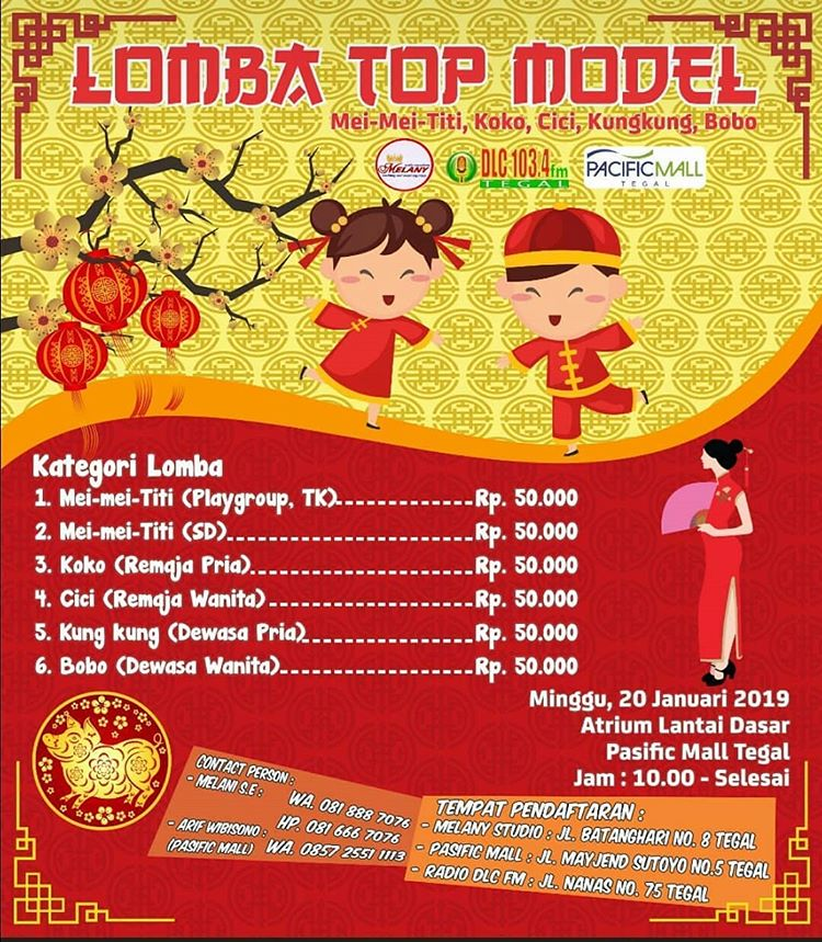 Event Tegal - Mandarin Top Model