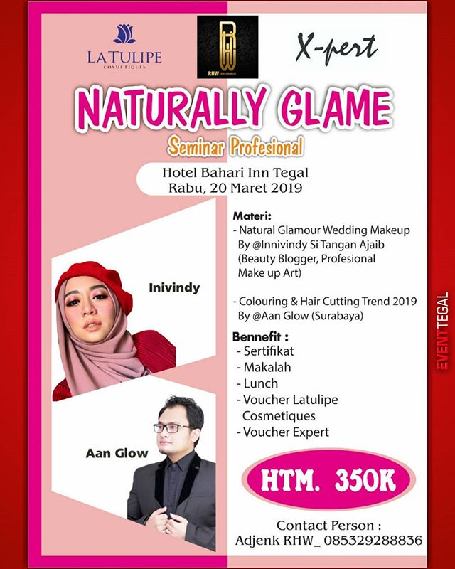 Event Tegal - Naturally Glame