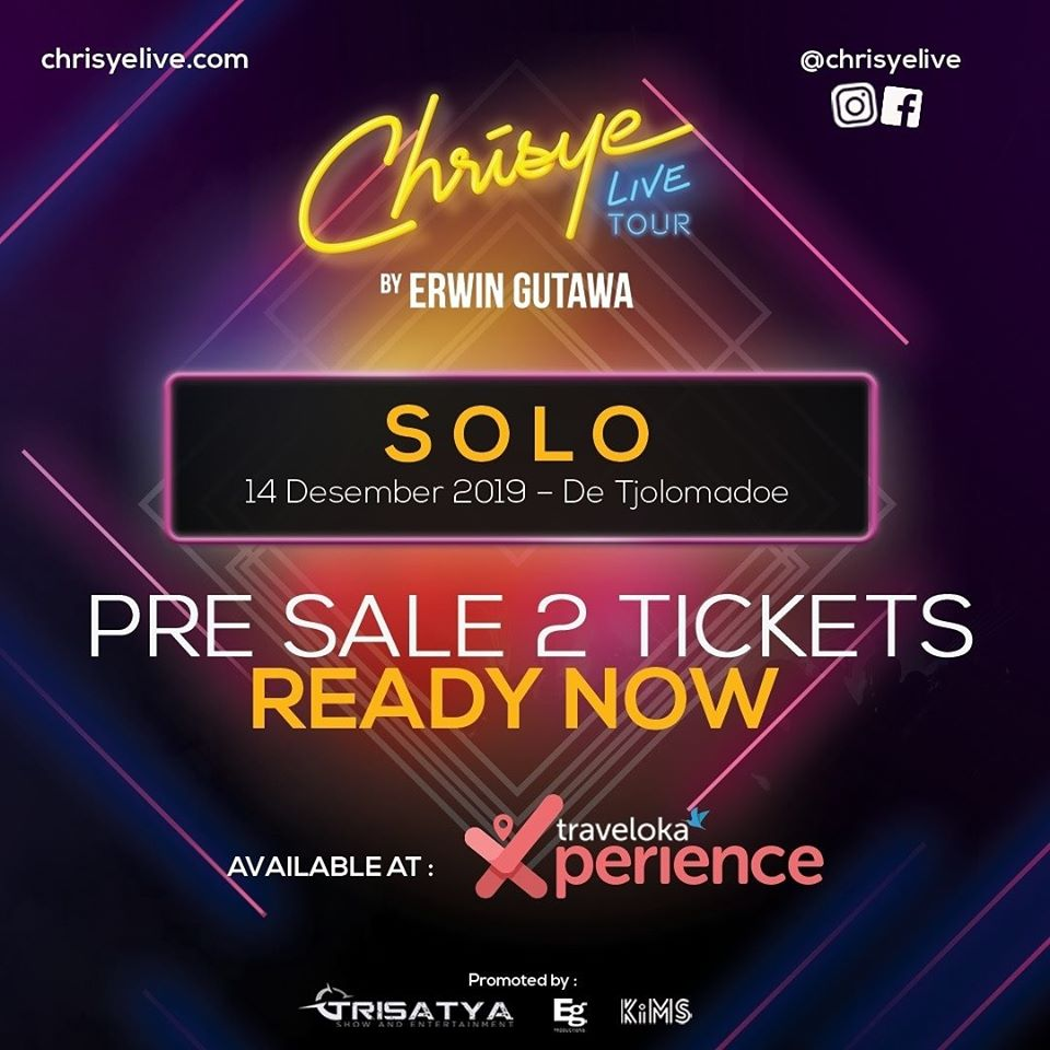 EVENTS SOLO : CHRISYE LIVE CONCERT BY ERWIN GUTAWA