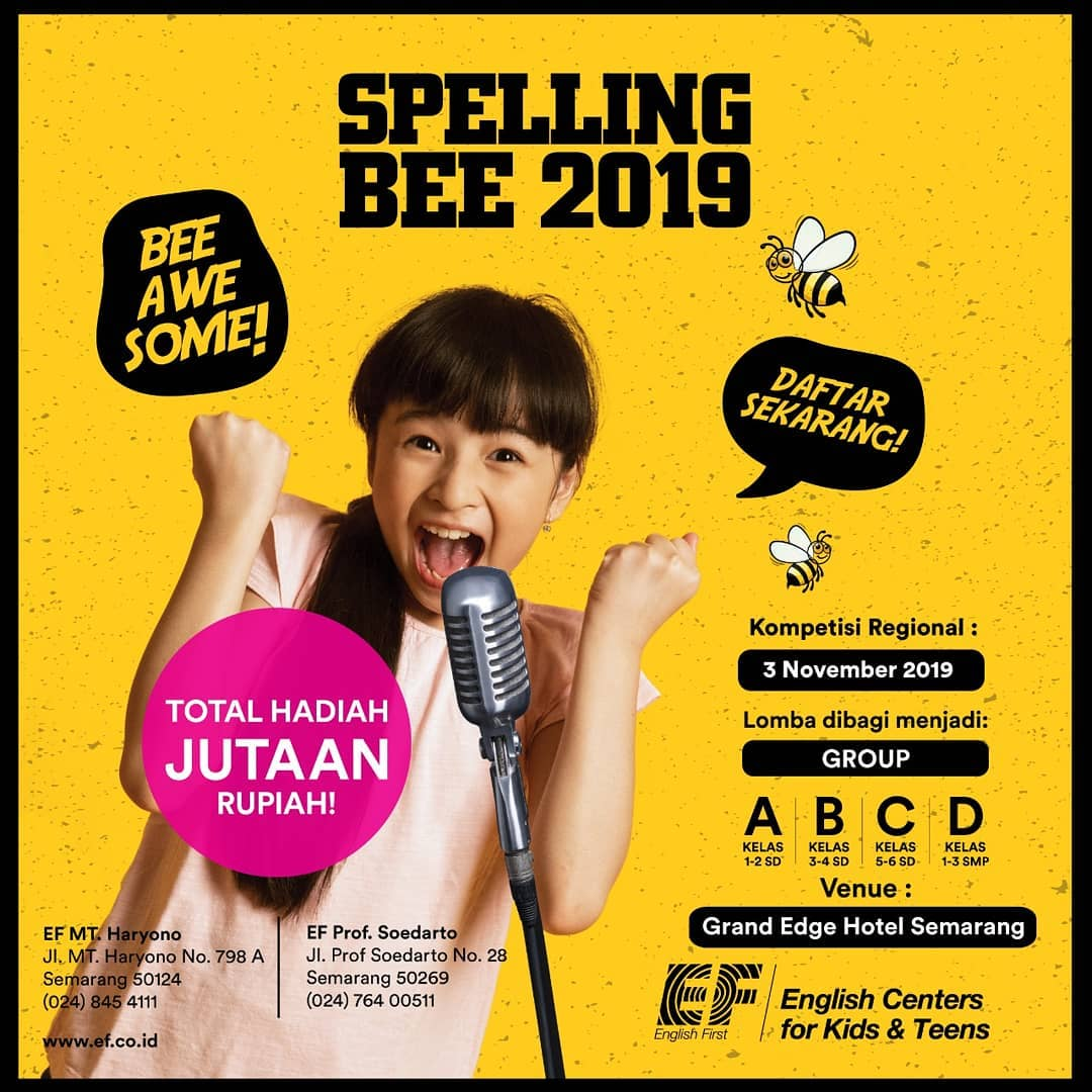 English First Spelling Bee 2019