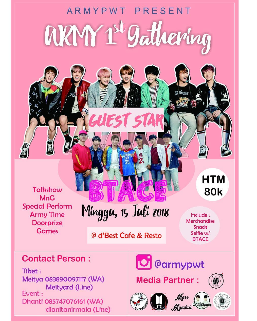 Event  Purwokerto - Army 1st Gathering
