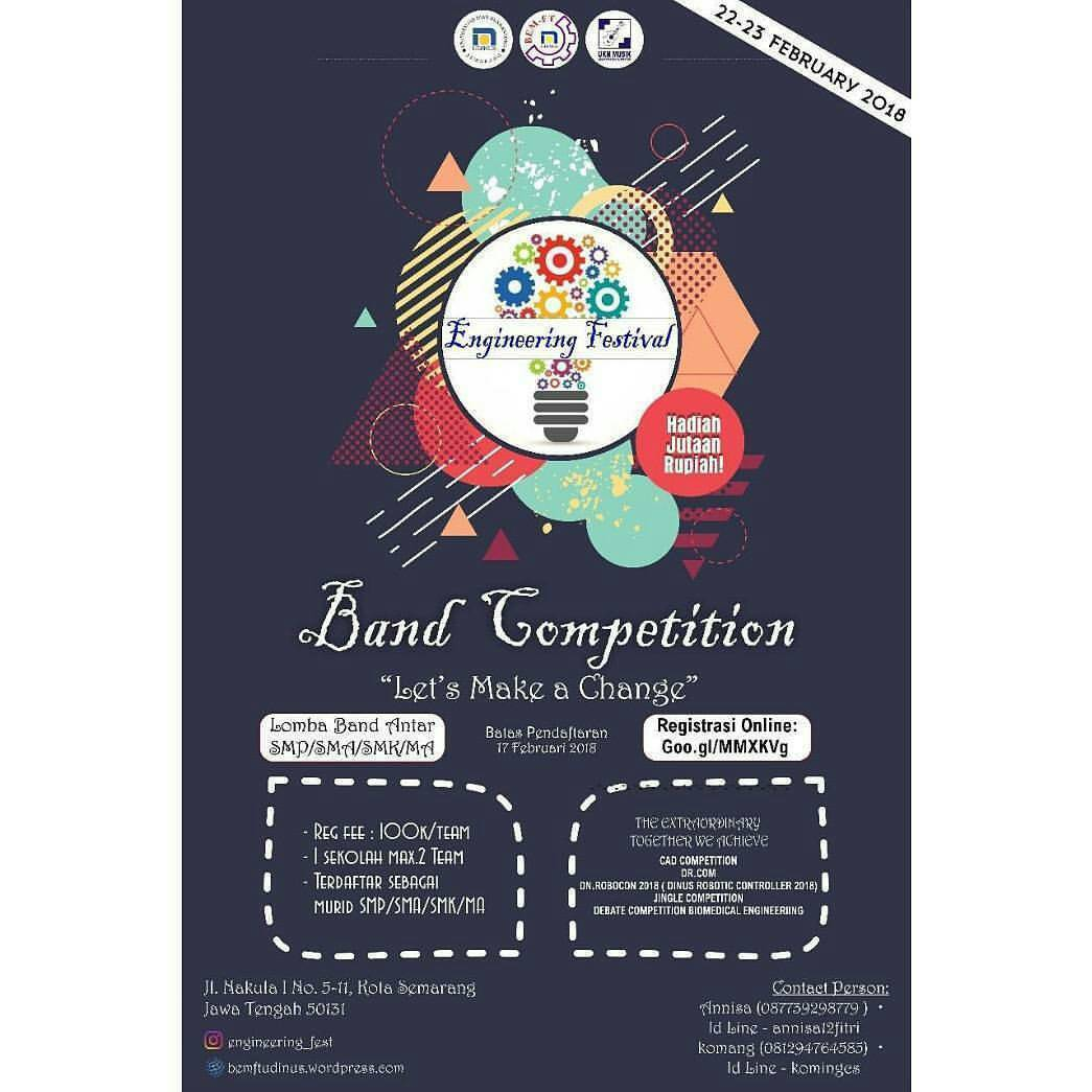 EVENT BAND COMPETITION DI SEMARANG