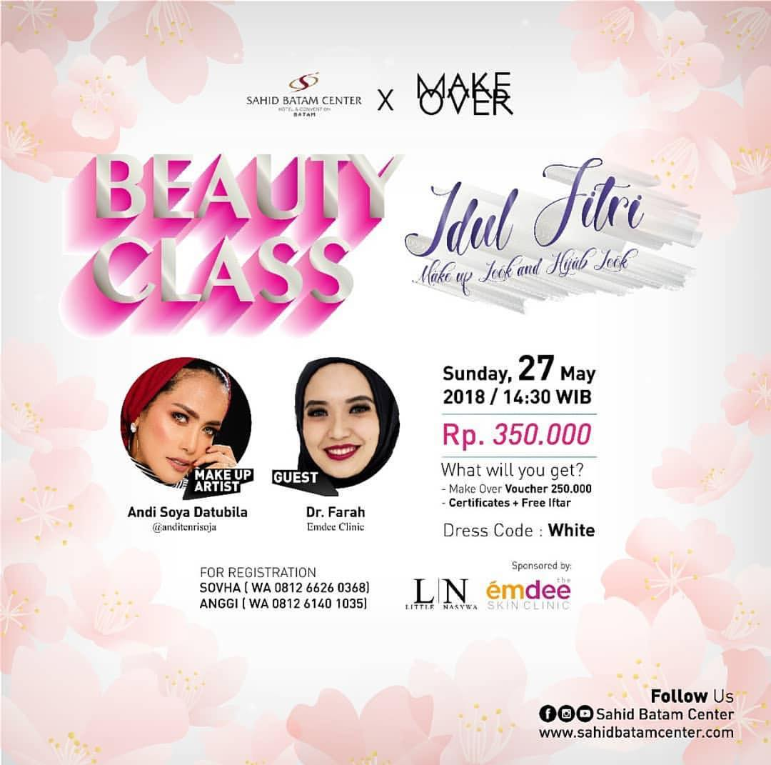 Event Batam - Beuty Class Idul Fitri Make Up And Hijab Look