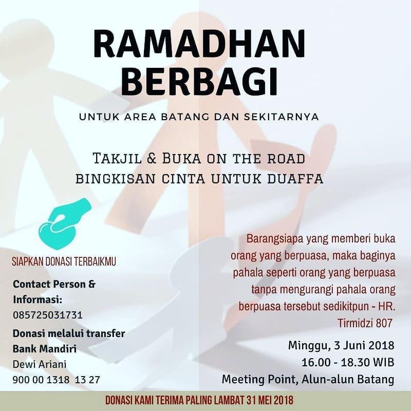Event Batang - Ramadhan Berbagi