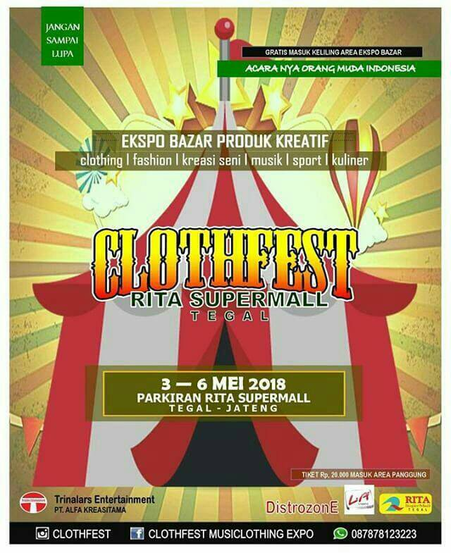Event Clothfest Tegal
