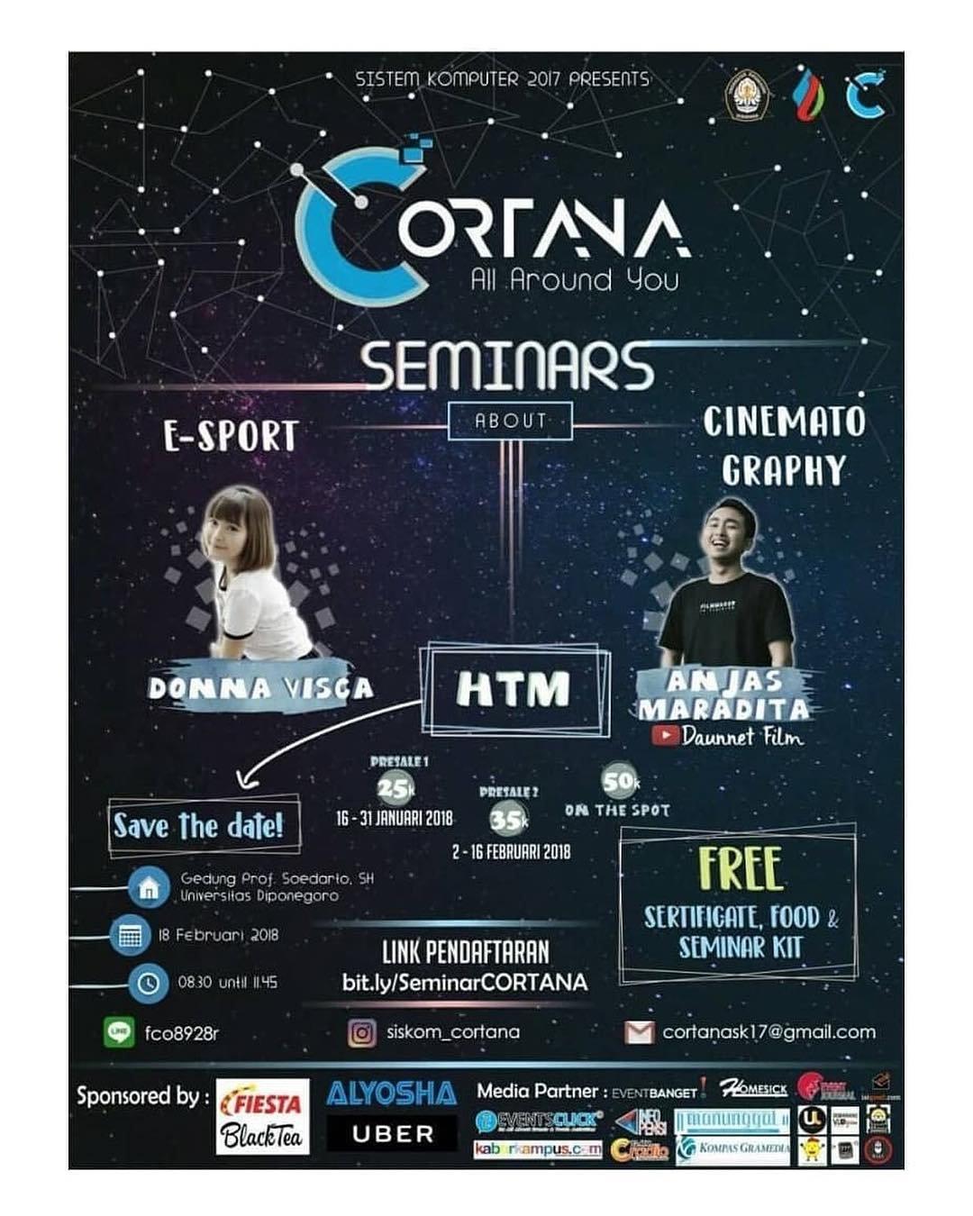EVENT COMPUTER ENGINEERING TECHNOLOGY AND ART CORTANA DI SEMARANG