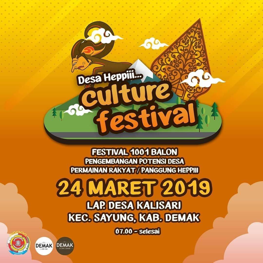 Event Demak - Desa Hepii Culture Festival