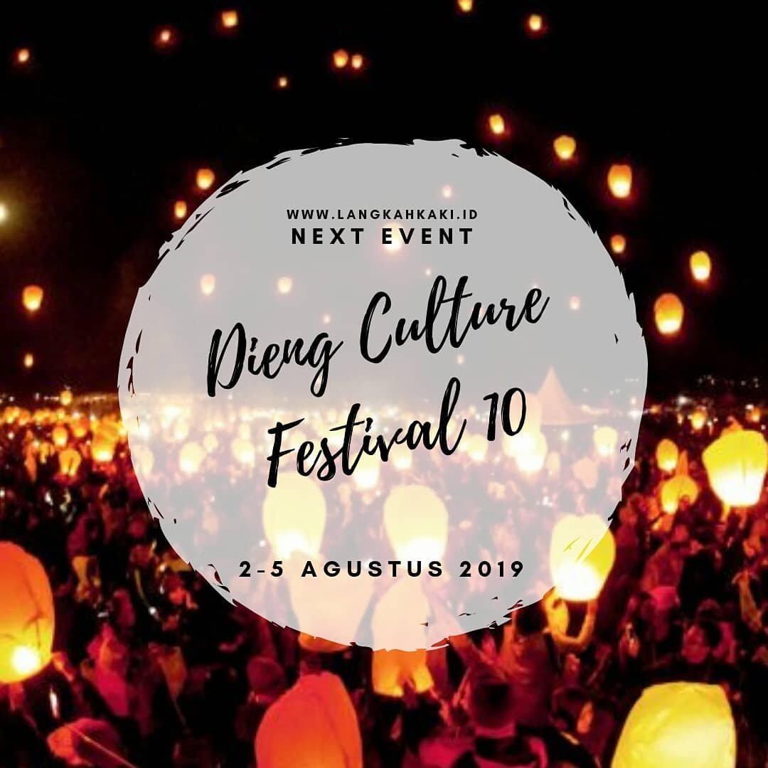 Event Dieng - Dieng Culture Festival 10