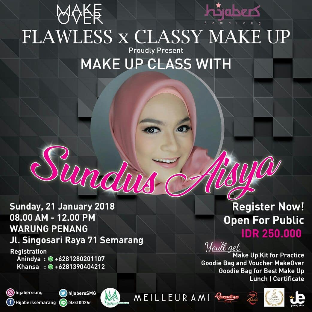 EVENT FLAWLESS X CLASSY BEAUTY MAKE UP SEMARANG