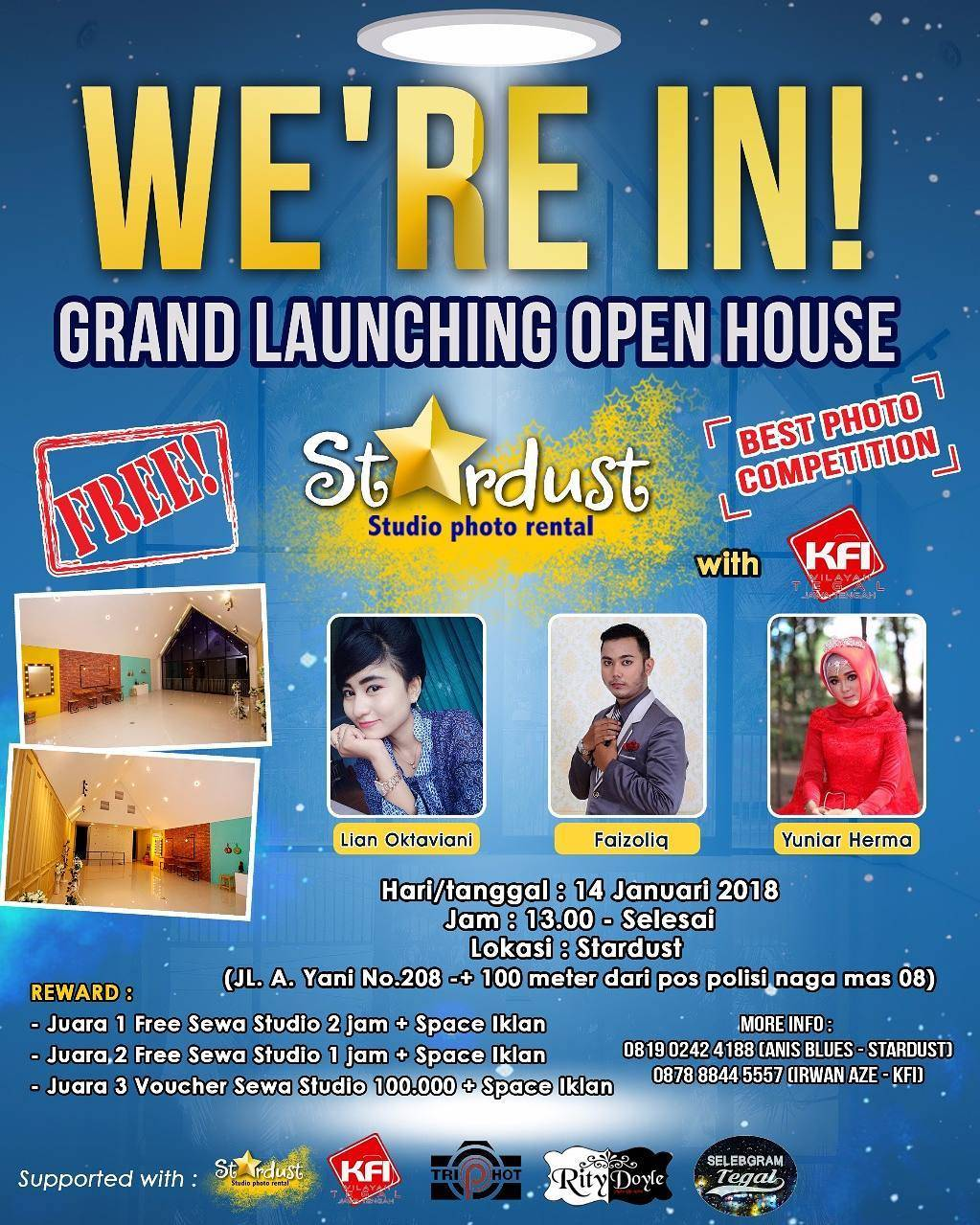 EVENT GRAND LAUNCHING OPEN HOUSE