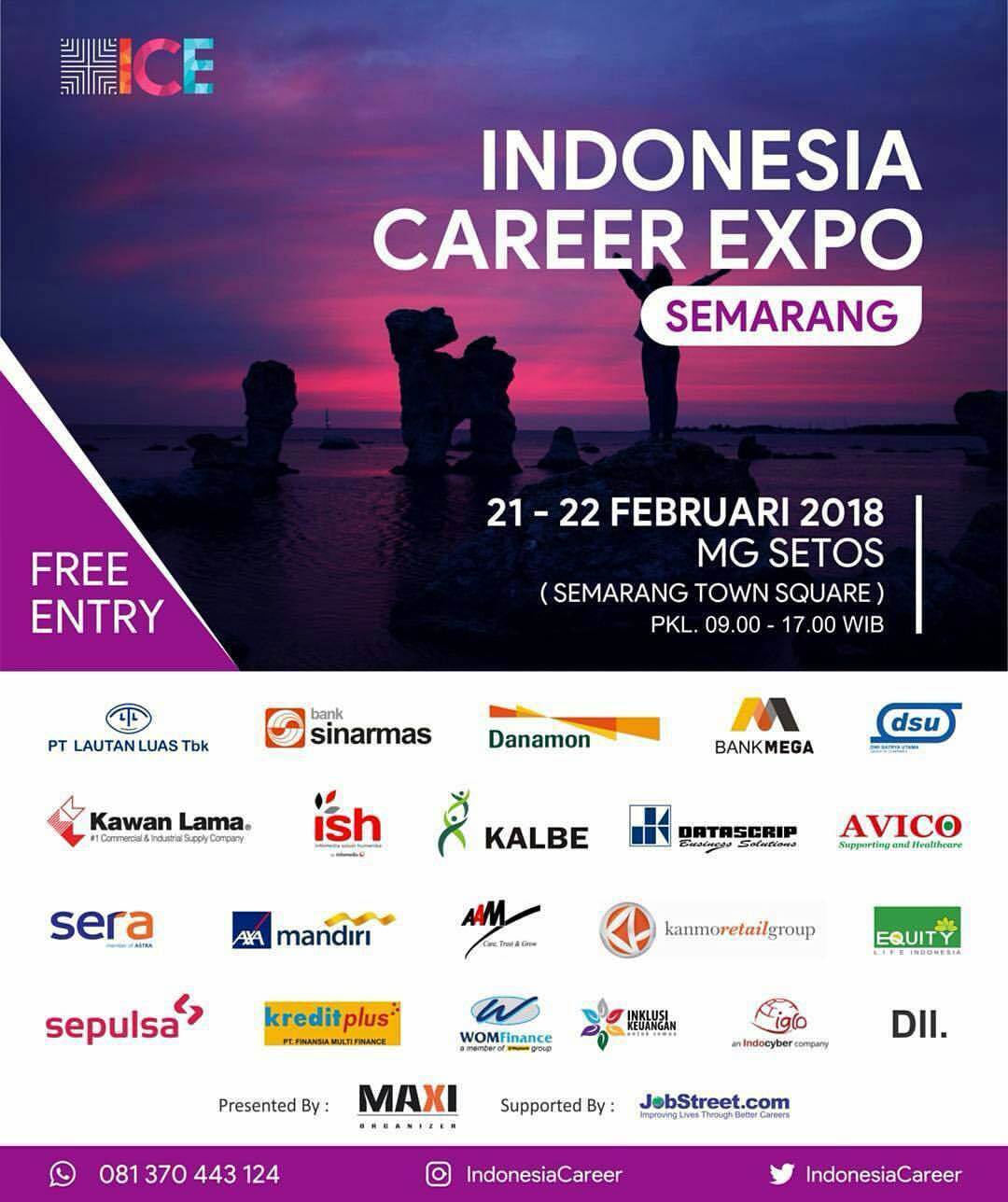 EVENT INDONESIA CAREER EXPO DI SEMERANG