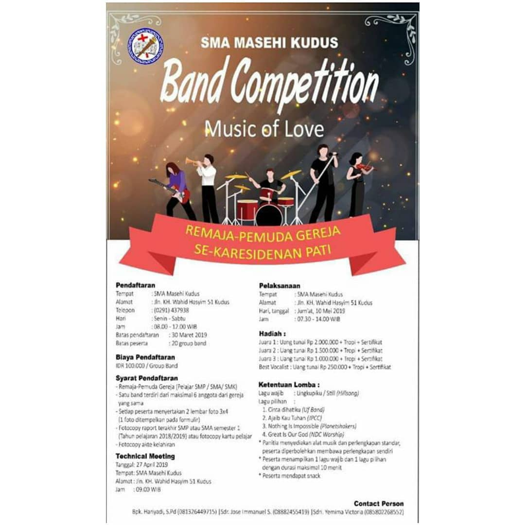 Event Kudus - Band Competition Music Of Love