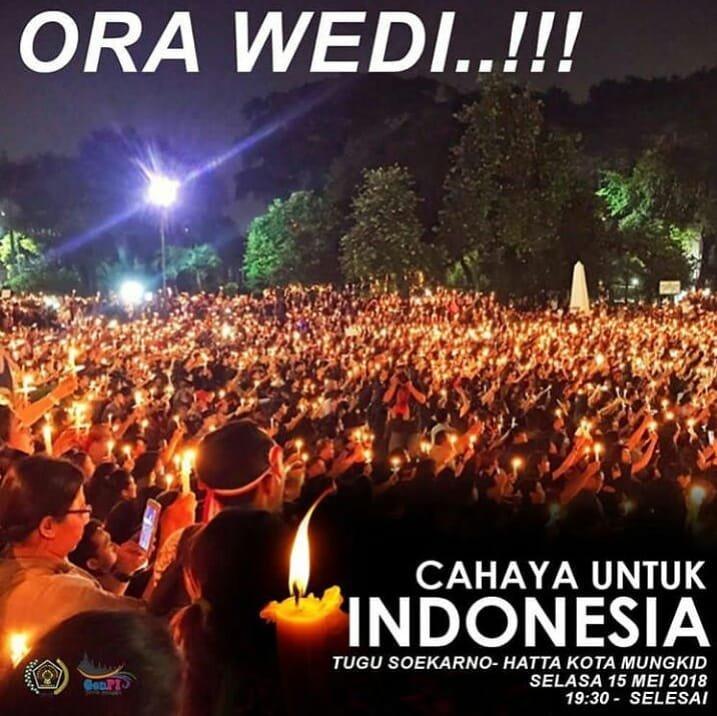 EVENT MAGELANG - CAHAYA UNTUK INDONESIA