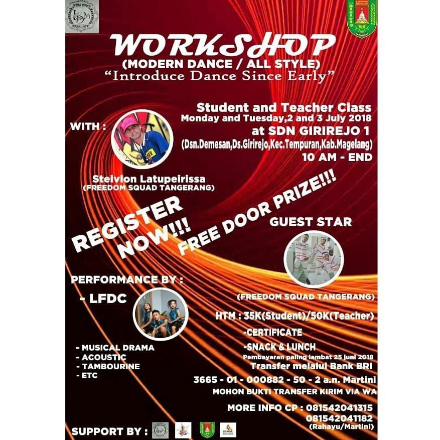 Event Magelang - Dance Workshop