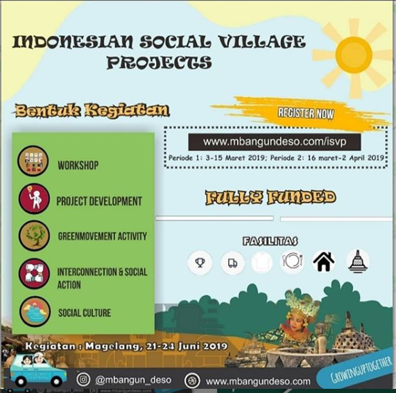 Event Magelang - Indonesian Social Village Projects