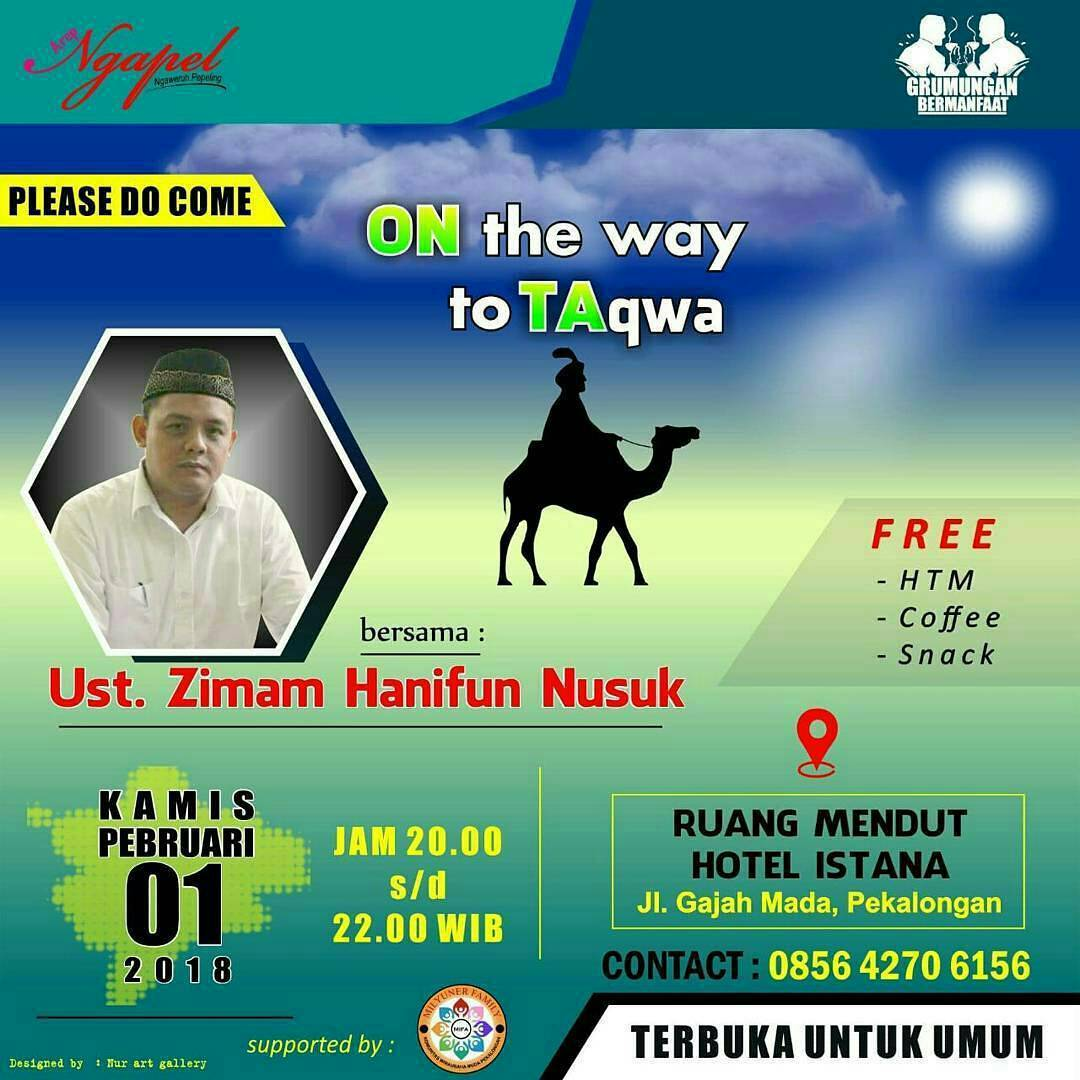 EVENT ON THE WAY TO TAQWA DI PEKALONGAN