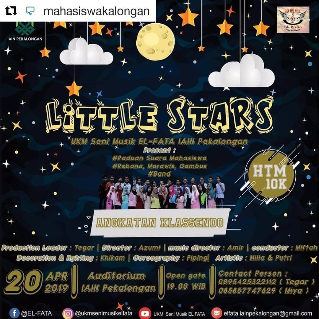 Event Pekalongan - Little Star (ukm Seni Musik Al-fata)