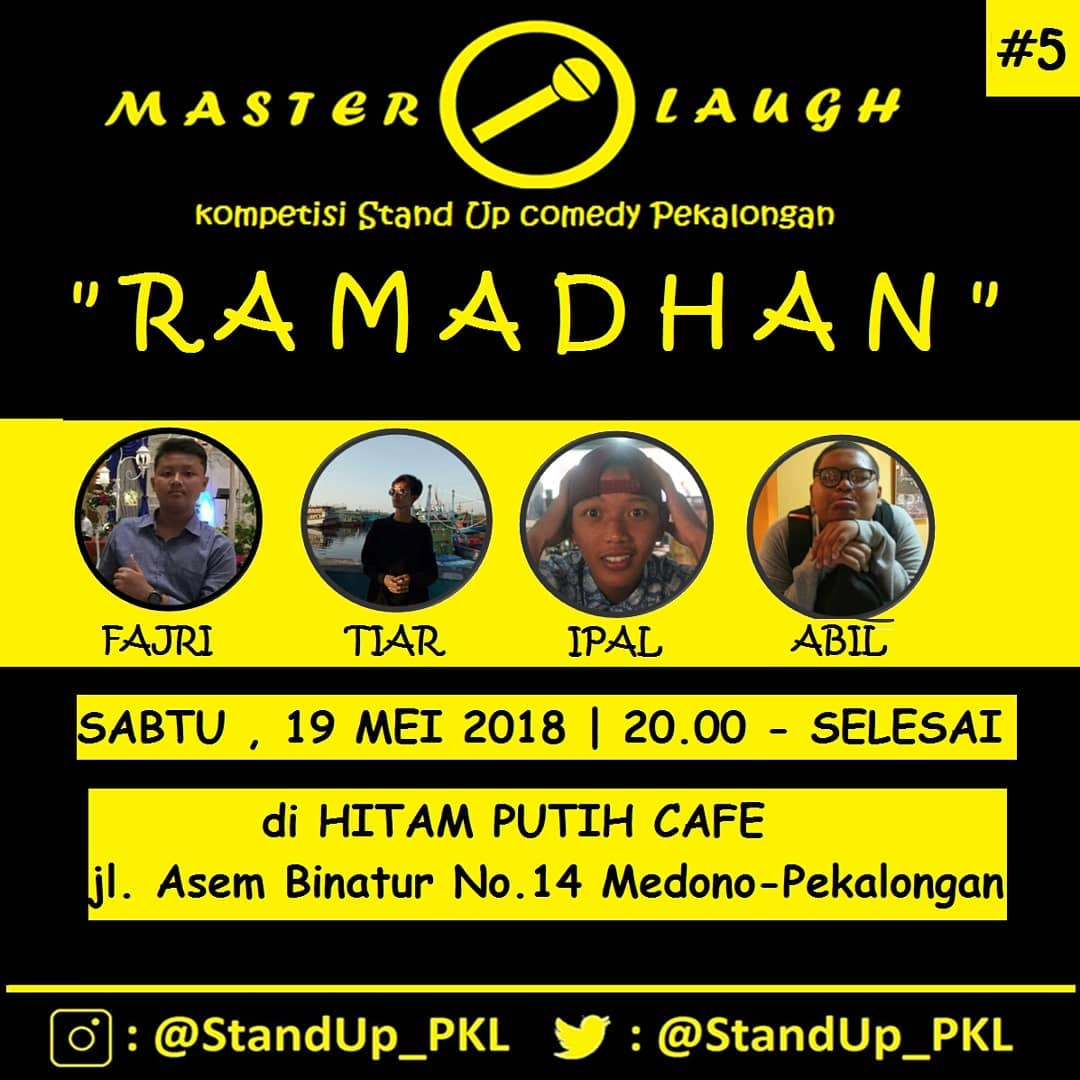 EVENT PEKALONGAN - MASTER LAUGH