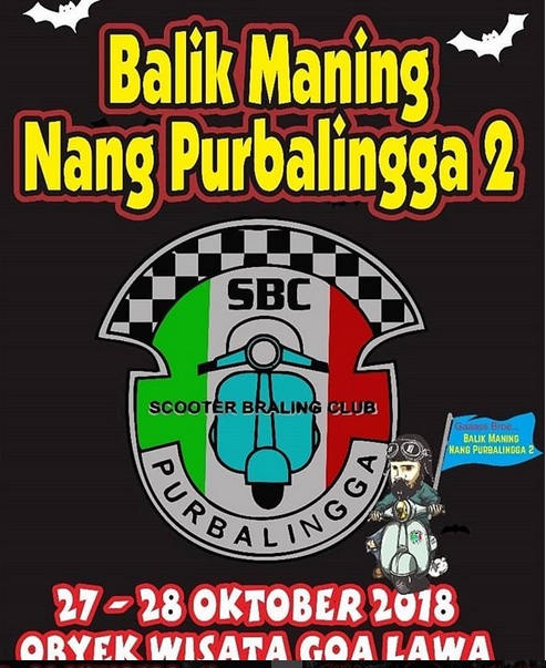 Event Purbalingga - Scooter Braling Club