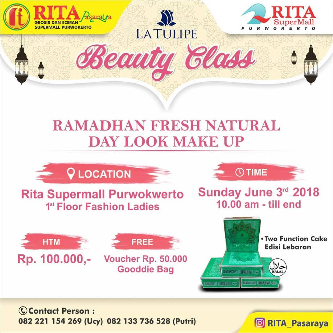EVENT PURWOKERTO - RAMADHAN FRESH NATURAL DAY LOOK MAKE UP