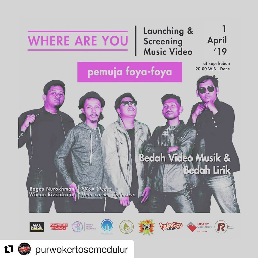 EVENT PURWOKERTO - LAUNCHING AND SCREENING MUSIC VIDEO