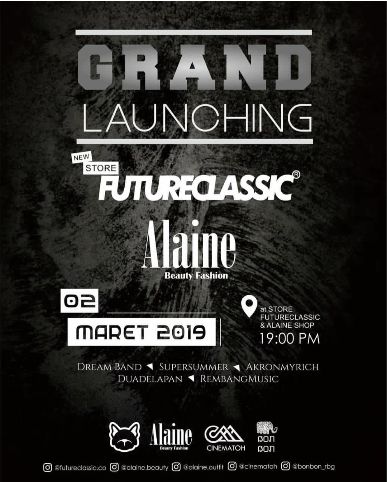 EVENT REMBANG - GRAND LAUNCHING FUTURE CLASSIC ALAINE SHOP
