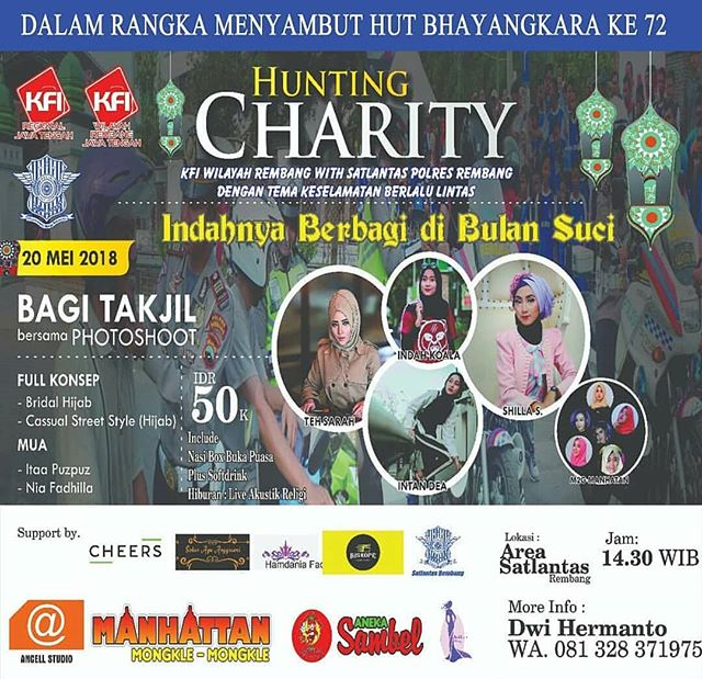 EVENT REMBANG - HUNTING CHARITY KFI